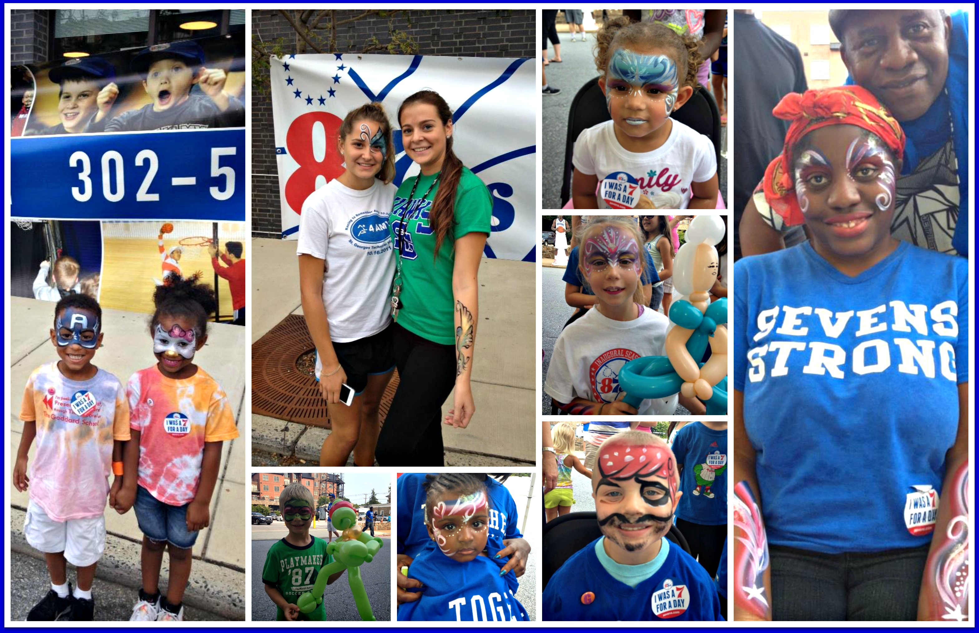 87ers Day Collage