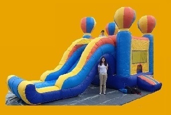 Inflatable moonbounce
