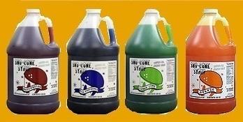 sno cone syrup