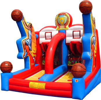 basketball moon bounce
