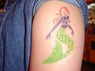 air brush tattoos