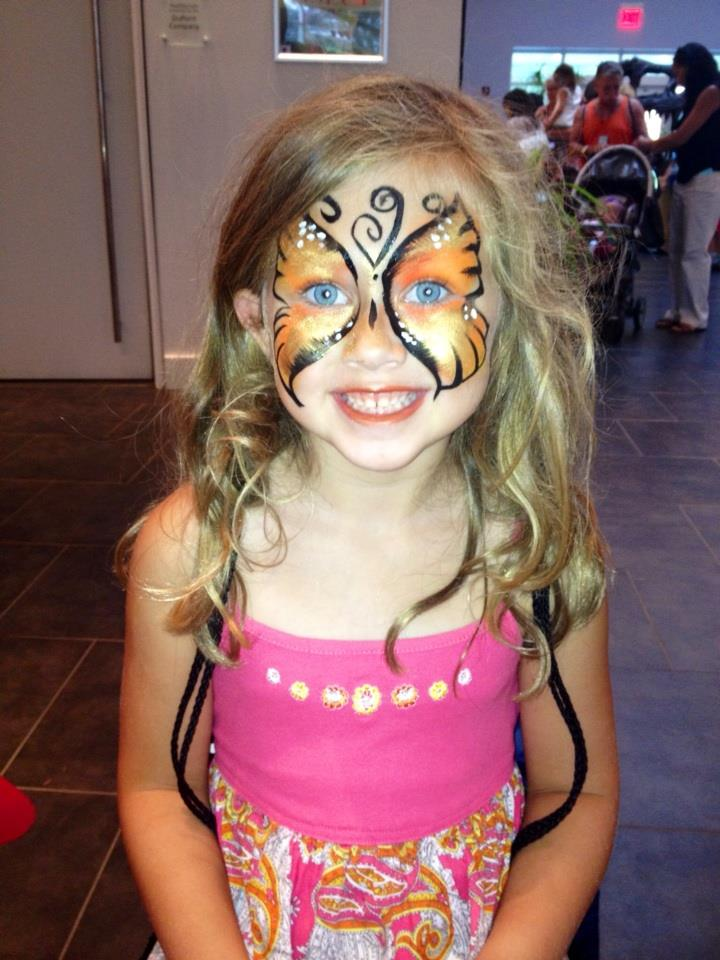 face painting children party