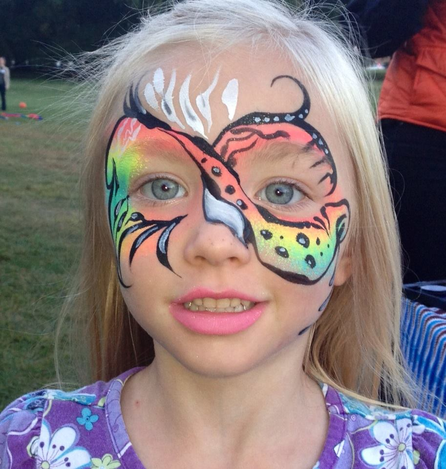 face painting birthday